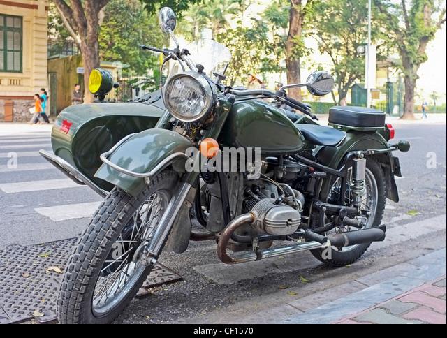 old motorcycle motorbike sidecar stockfotos old. Black Bedroom Furniture Sets. Home Design Ideas