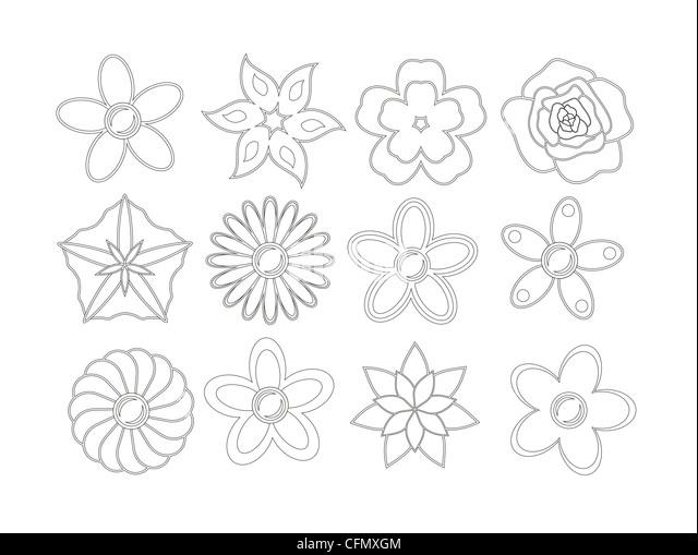 Gemütlich Farbbuch Blumen Zeitgenössisch - Beispiel Wiederaufnahme ...