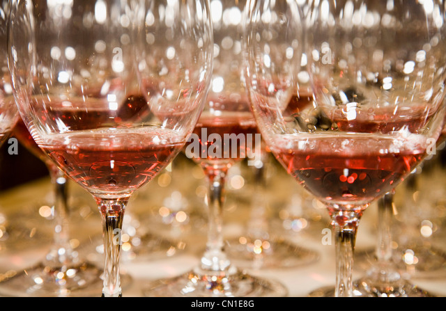wine glass and lights stockfotos wine glass and lights. Black Bedroom Furniture Sets. Home Design Ideas