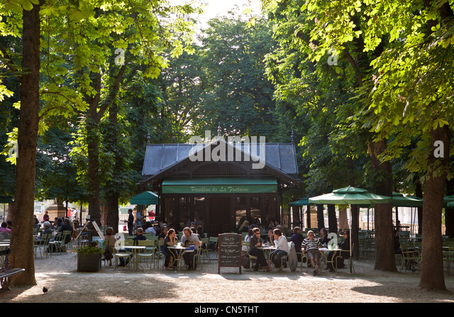 Cafe pavillon stockfotos cafe pavillon bilder alamy for Cafe jardin du luxembourg