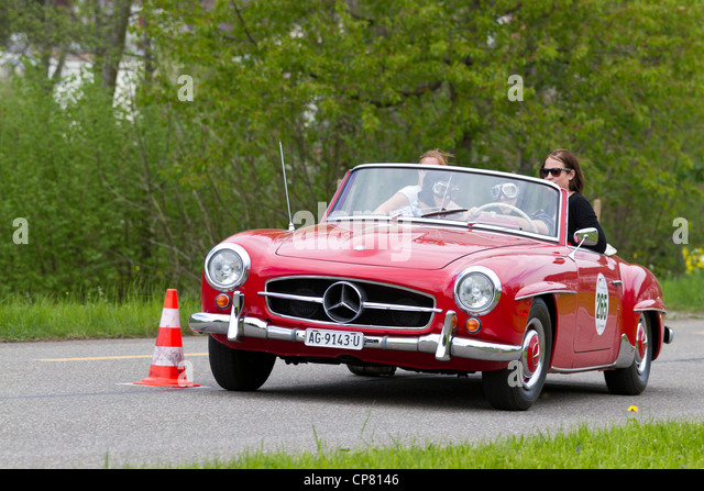 vintage mercedes car vehicle stockfotos vintage mercedes car vehicle bilder alamy. Black Bedroom Furniture Sets. Home Design Ideas