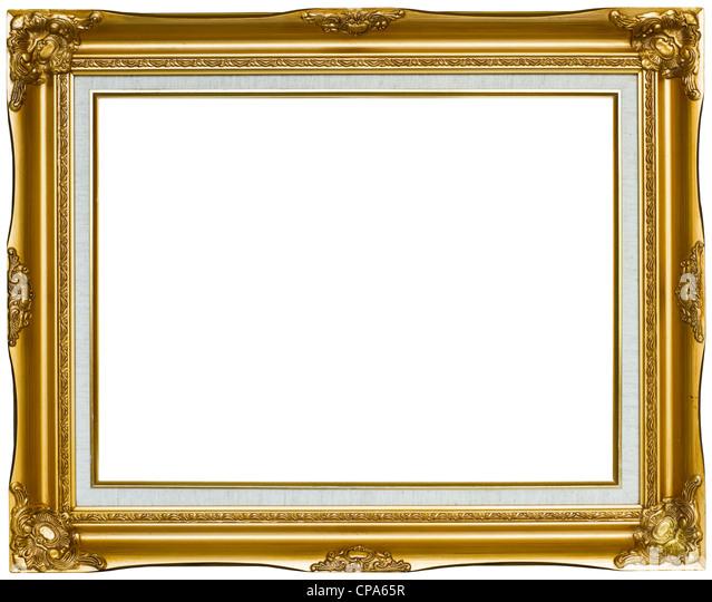 old painting gold frame stockfotos old painting gold frame bilder alamy. Black Bedroom Furniture Sets. Home Design Ideas