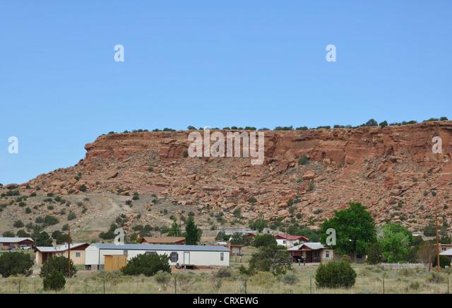 native american reservation houses stockfotos native american reservation houses bilder alamy. Black Bedroom Furniture Sets. Home Design Ideas