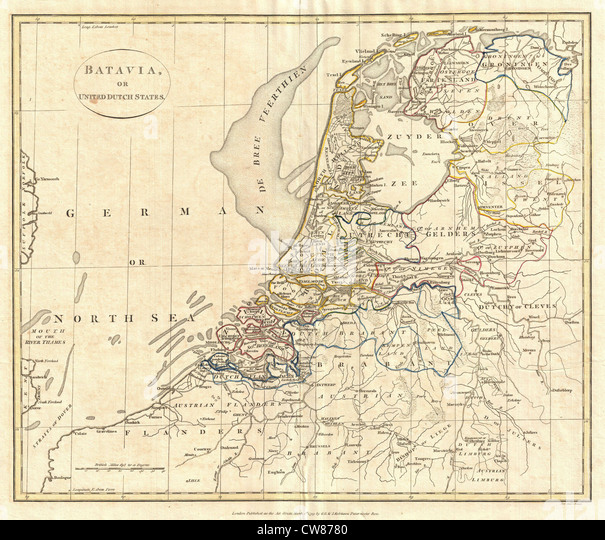 holland map stockfotos holland map bilder alamy. Black Bedroom Furniture Sets. Home Design Ideas