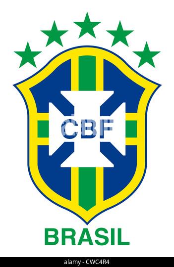 brasilien fussball nationalmannschaft stockfotos