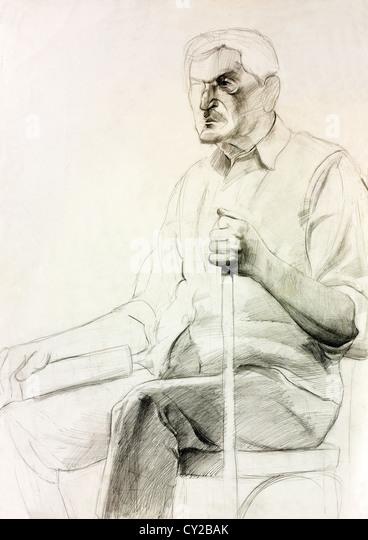 Sessel zeichnung bleistift  Black Ba Stockfotos & Black Ba Bilder - Seite 22 - Alamy