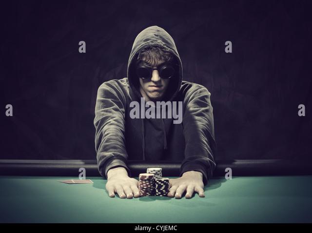 Professioneller Pokerspieler
