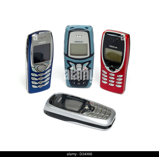 old nokia mobile phone isolated stockfotos old nokia. Black Bedroom Furniture Sets. Home Design Ideas