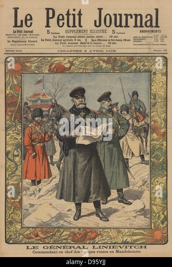 Le petit journal russo japanese war stockfotos le petit journal russo j - Le petit journal tokyo ...