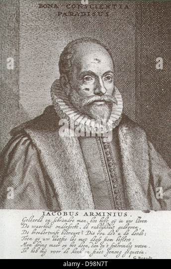 jacob arminius Arminianism is a school of soteriological (the study of salvationsee discussion  of this further below) thought in  jacob arminius and the early arminians.