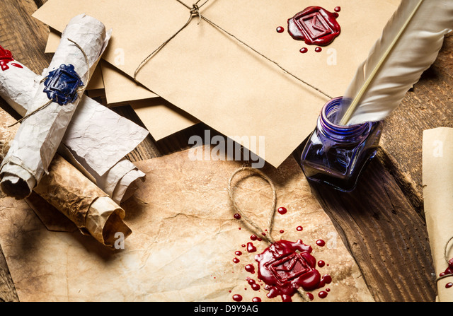 medieval writing wax stockfotos medieval writing wax bilder alamy. Black Bedroom Furniture Sets. Home Design Ideas