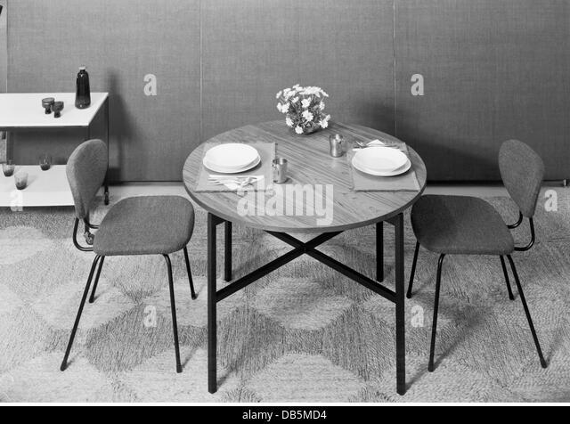 Möbel, Esszimmer, 1960, 1960er Jahre, Der 60er Jahre Des 20. Jahrhunderts