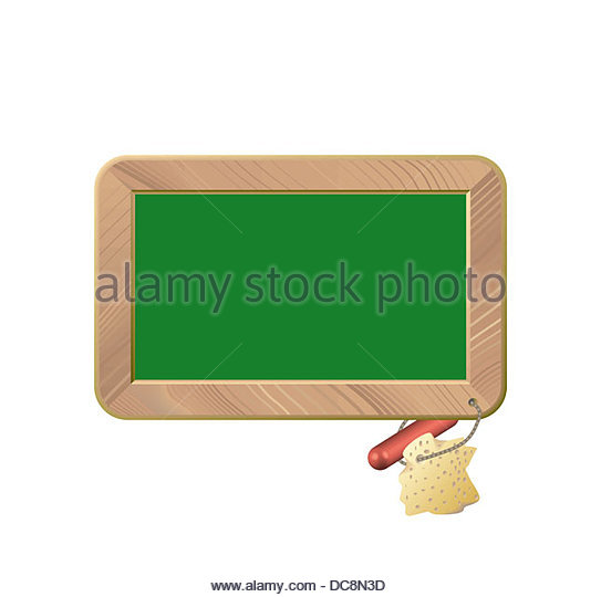 Schultafel mit schwamm clipart  Blackboard Sponge And Chalk Stockfotos & Blackboard Sponge And ...