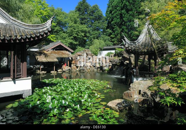 chinesischer stockfotos chinesischer bilder alamy On chinesischer garten nrw