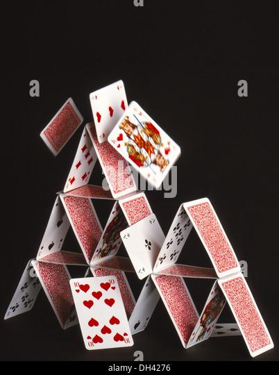 Ein Kartenhaus