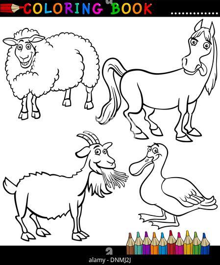 Erfreut Nutztier Färbung Blätter Zeitgenössisch - Beispiel Business ...
