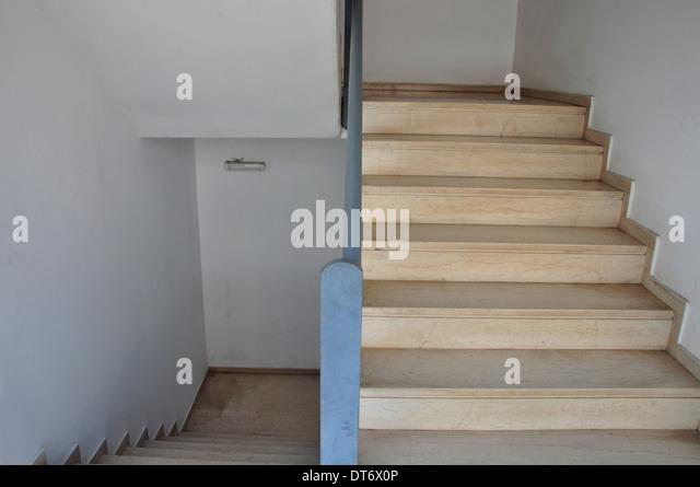 Treppen architektur detail  Marble Staircase Architecture Detail Stockfotos & Marble Staircase ...