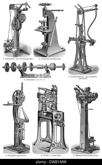 19th century factory machines stockfotos 19th century for Mobel 19 jahrhundert