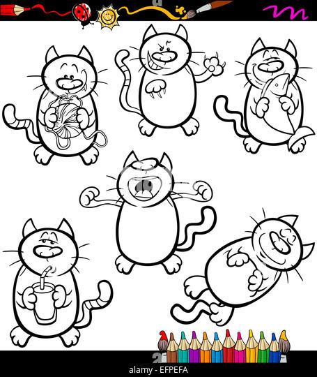 Atemberaubend Schwarze Katze Färbung Seite Ideen ...