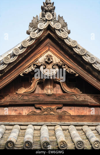 Japanisches Dach roof with beams stockfotos roof with beams bilder seite 2 alamy