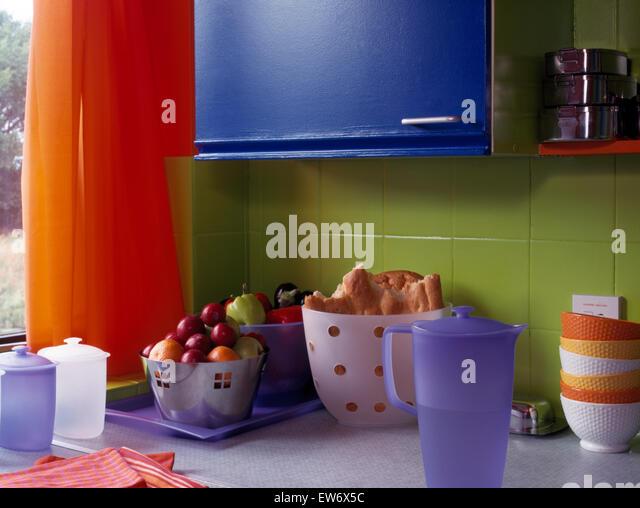kitchen details tiling stockfotos kitchen details tiling bilder alamy. Black Bedroom Furniture Sets. Home Design Ideas