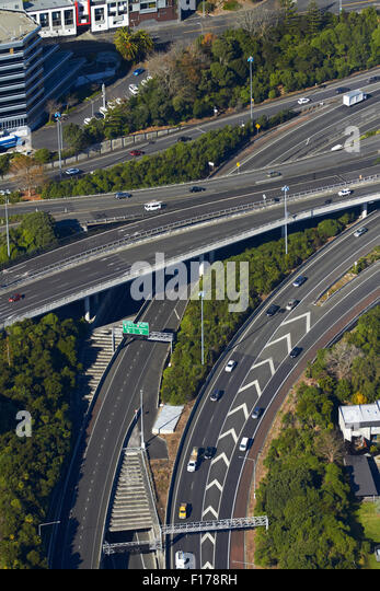 Z Newton Auckland The Central Motorway J...