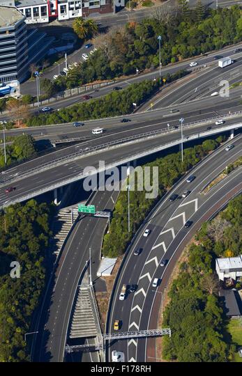 Z Newton Auckland The Central Motorway J...