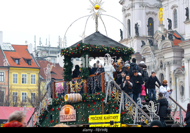 prague wenceslas market stockfotos prague wenceslas. Black Bedroom Furniture Sets. Home Design Ideas