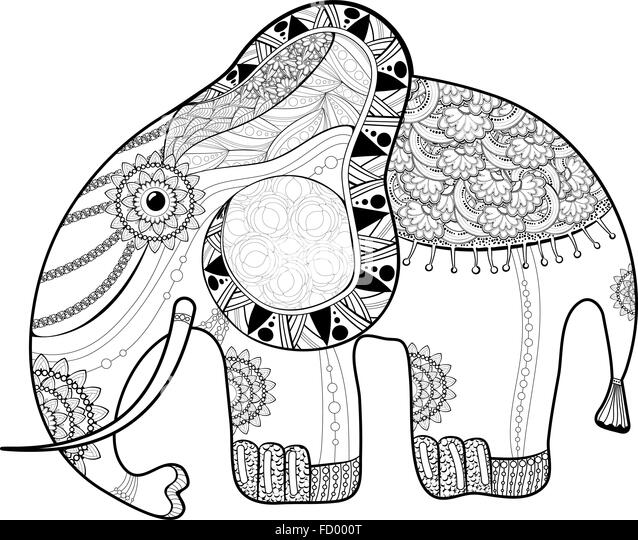 Gemütlich Anti Stress Malvorlagen Elefant Ideen - Ideen färben ...