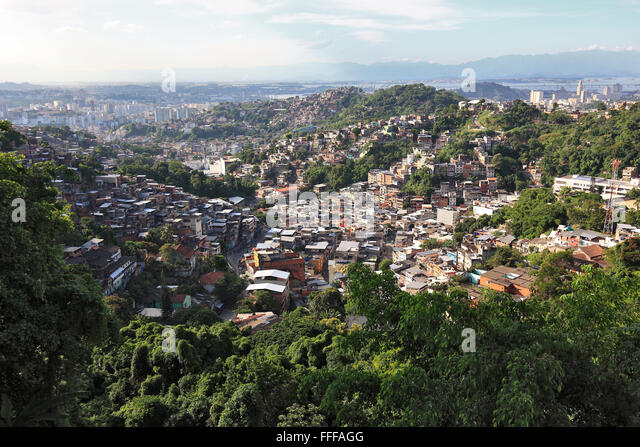 favelas view stockfotos favelas view bilder alamy. Black Bedroom Furniture Sets. Home Design Ideas