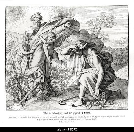 Schön Moses Und Der Brennende Busch Malvorlagen Galerie ...