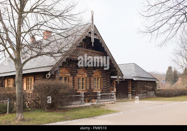 Russian Alexandrowka Potsdam Stockfotos & Russian