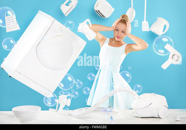 woman cleaning house funny stockfotos woman cleaning. Black Bedroom Furniture Sets. Home Design Ideas