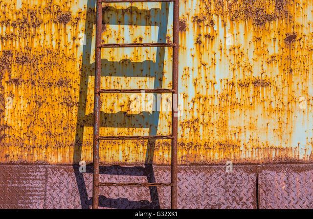 ladder against wall stockfotos ladder against wall. Black Bedroom Furniture Sets. Home Design Ideas