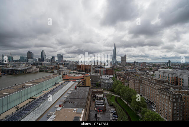 view from tate modern stockfotos view from tate modern bilder alamy. Black Bedroom Furniture Sets. Home Design Ideas