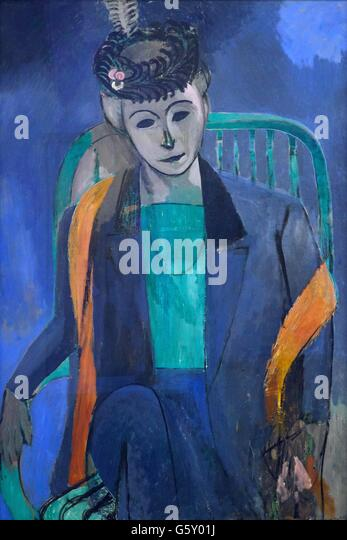 henri matisse portrait stockfotos henri matisse portrait bilder alamy. Black Bedroom Furniture Sets. Home Design Ideas