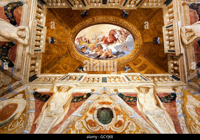 Baroque painting stockfotos baroque painting bilder alamy - Barock dekoration ...