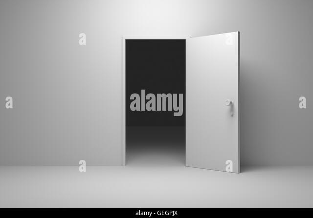 Halb geöffnete tür  Open Opened Gate Stockfotos & Open Opened Gate Bilder - Alamy