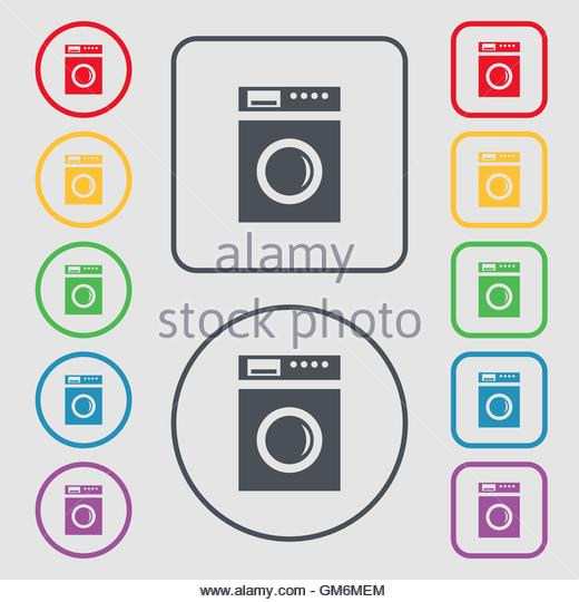 laundromat interior stockfotos laundromat interior bilder alamy. Black Bedroom Furniture Sets. Home Design Ideas