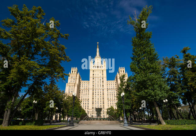 stalinist empire style stockfotos stalinist empire style bilder alamy. Black Bedroom Furniture Sets. Home Design Ideas