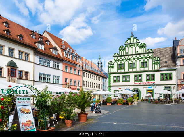 germany thuringia weimar old town stockfotos germany thuringia weimar old town bilder alamy. Black Bedroom Furniture Sets. Home Design Ideas