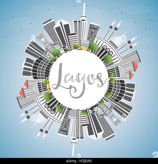 Lagos Nigeria Buildings Stockfotos & Lagos Nigeria