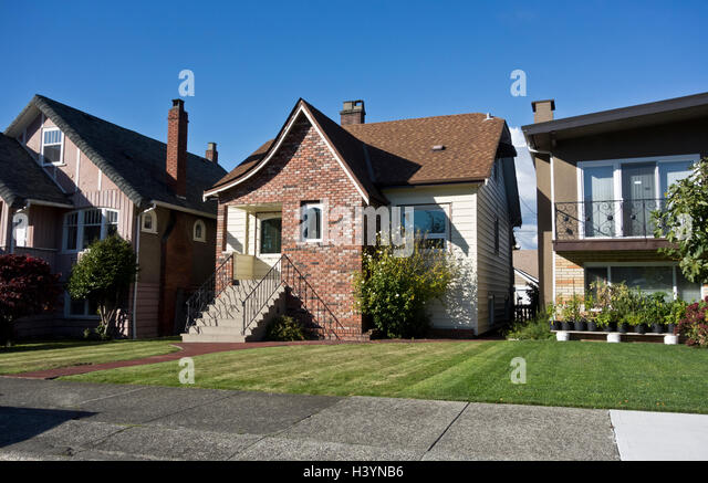 residential vancouver stockfotos residential vancouver bilder alamy. Black Bedroom Furniture Sets. Home Design Ideas