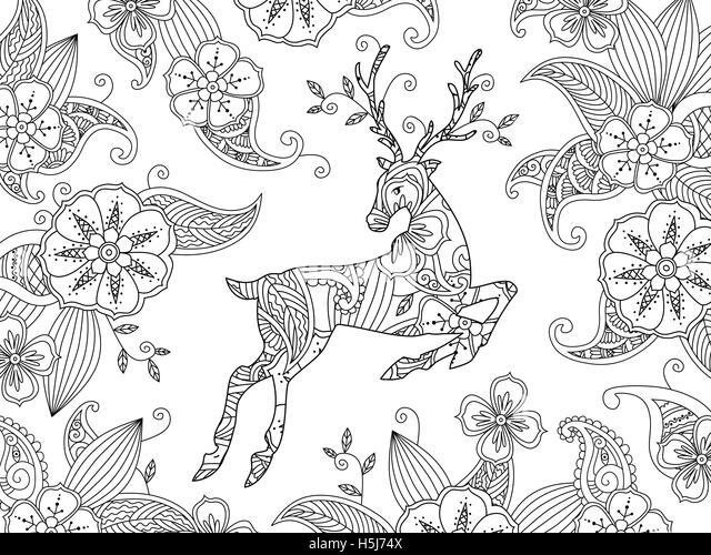 Fein Realistische Whitetail Deer Malvorlagen Galerie - Entry Level ...