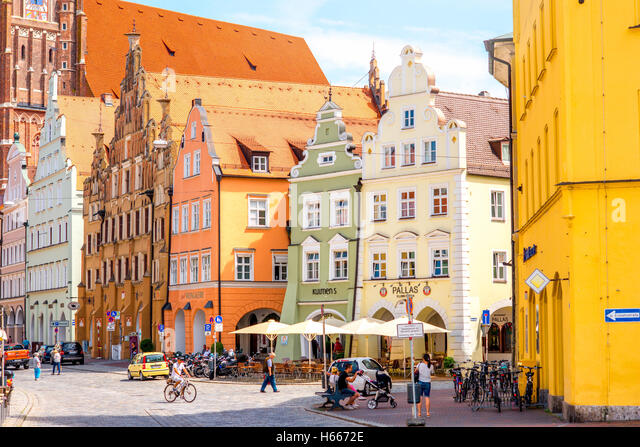 landshut stockfotos landshut bilder alamy. Black Bedroom Furniture Sets. Home Design Ideas