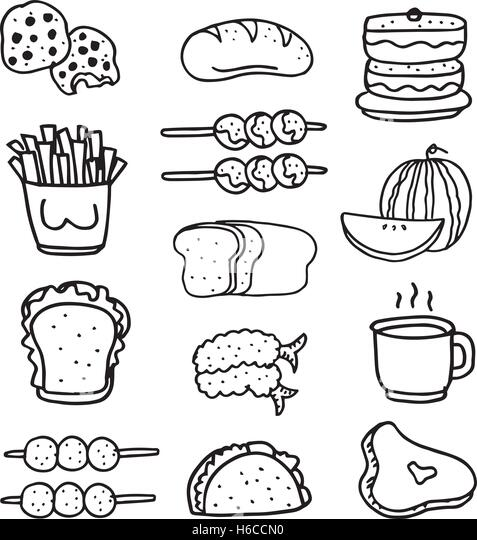 how to draw a croissant