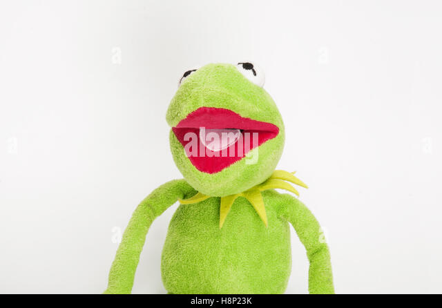 Kermit The Frog And The Muppets Stockfotos  Kermit The Frog And