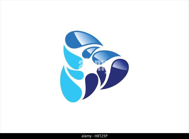 blue circle logo stockfotos amp blue circle logo bilder alamy