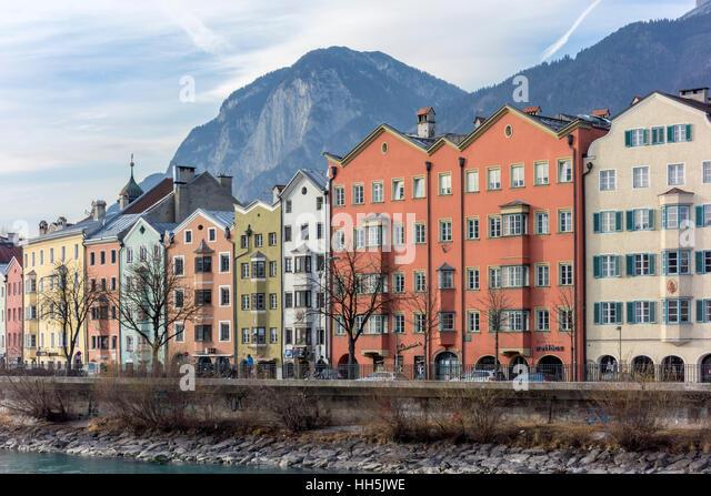 Innsbruck facade stockfotos innsbruck facade bilder alamy for Architektur innsbruck