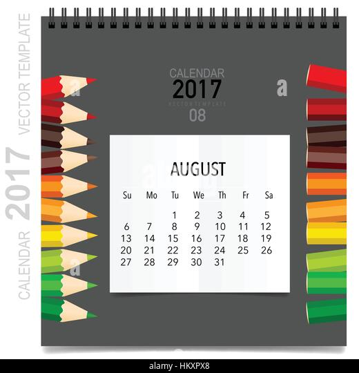 Großartig Große Monatliche Kalendervorlage Bilder ...